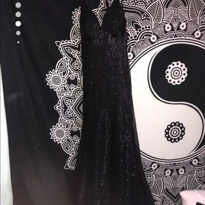 Jovani Dresses - Jovani black sequin dress